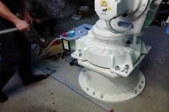 Установка робота производителья ABB - (Tiksoja Puidugrupp AS)