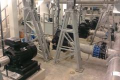 200 kW / pumpun sähkömoottoreiden huolto, käyttöönotto ja keskitys (4 kpl) (Narva Vesi AS)
