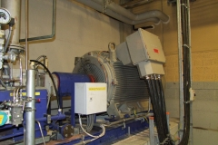 Repair of 970 kW-3000 rpm electric motor (Tartu Fortum AS)